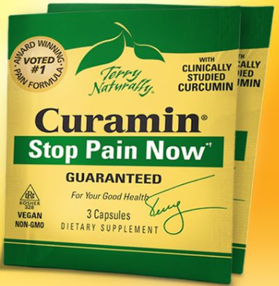 Terry Naturally Vitamins Curamin Pain Relief Sample