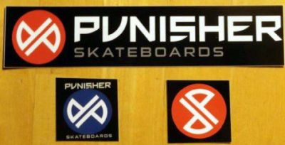 Punisher Skateboards Free Stickers - Worldwide