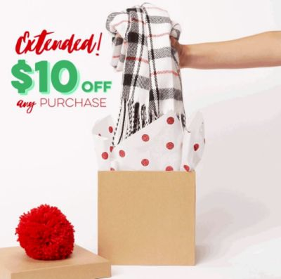 Charming Charlie Stores Coupon Free Save $10 off Any Purchase - Exp. December 23, 2016