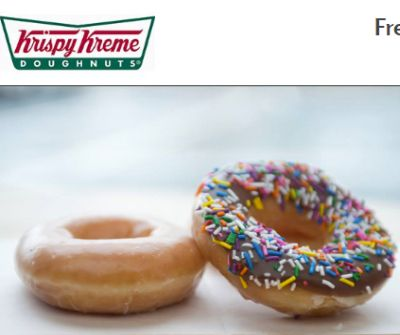 GreatEats.com Powered by Coca-Cola Free Krispy Kreme Doughnut of Your Choice - US