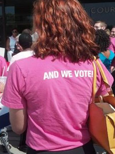 Women's Equality Party Free T-Shirt - New York State Only