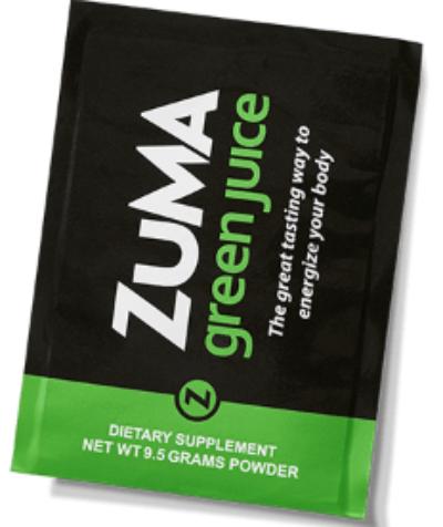 Zuma Juice Free Zuma Greens Powder Sample - US