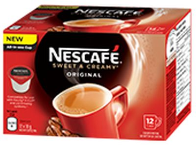 Nescafé Sweet & Creamy Pod for Keurig Brewing Systems Free Sample - Canada