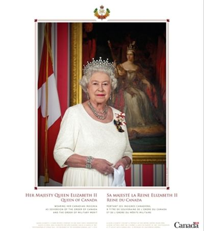 Government of Canada Order or Download a Free Portrait of Her Majesty The Queen - Canada