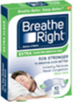 Breathe Right Extra Clear for Sensitive Skin Nose Strip Free Sample - US