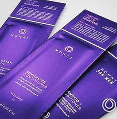 Monat Free Haircare Sample