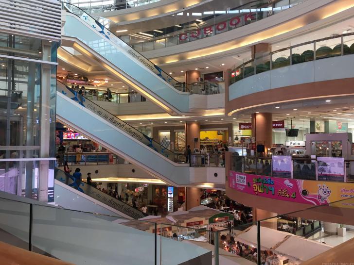 バンコクのショッピングセンター