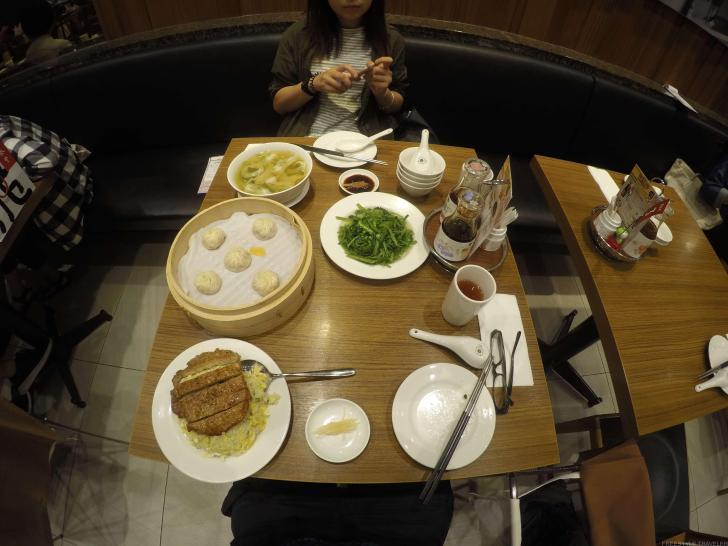 鼎泰豊で食事