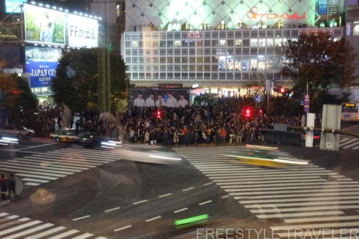 渋谷・スクランブル交差点