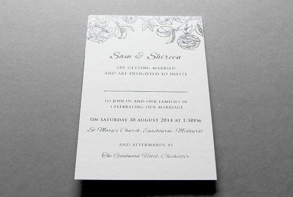 Wedding Invitations F975o