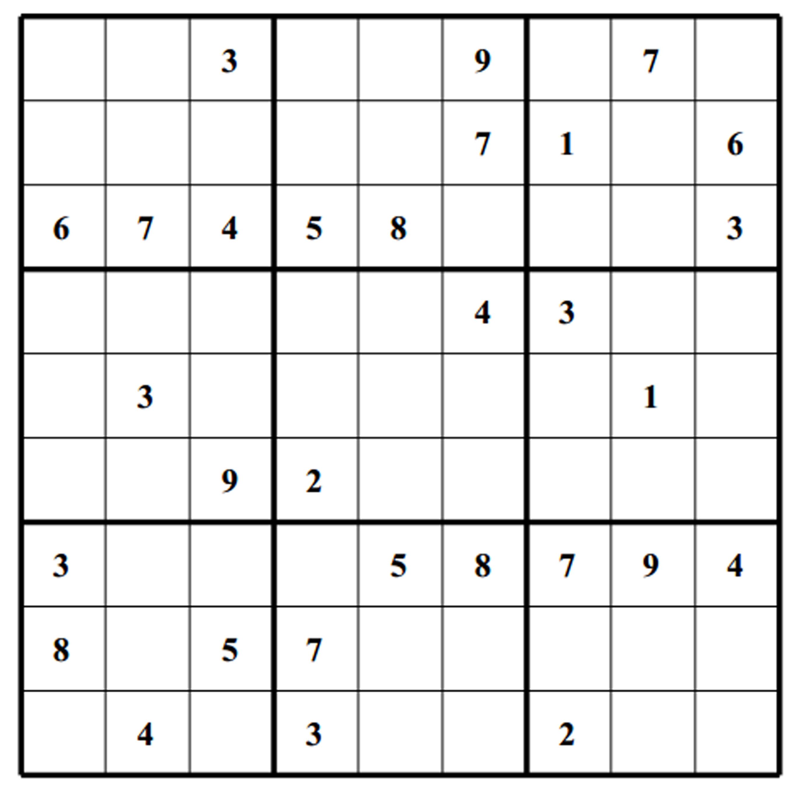 It is a graphic of Medium Sudoku Printable regarding samurai