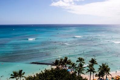 Waikiki Beach Photo: Rock