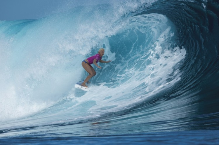 Fiji Women's Pro Surfing