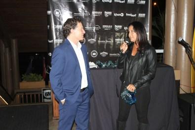 Tammy Moniz and Mike Latronic