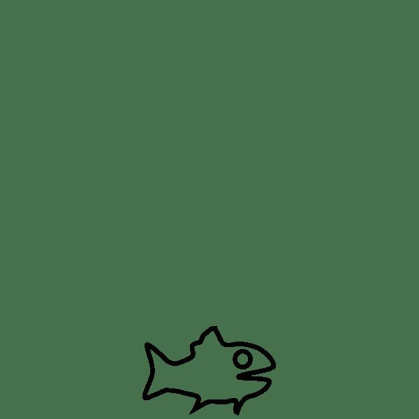 Fish Outline Free Svg
