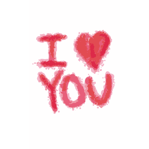 Download I love you symbol vector graphics | Free SVG