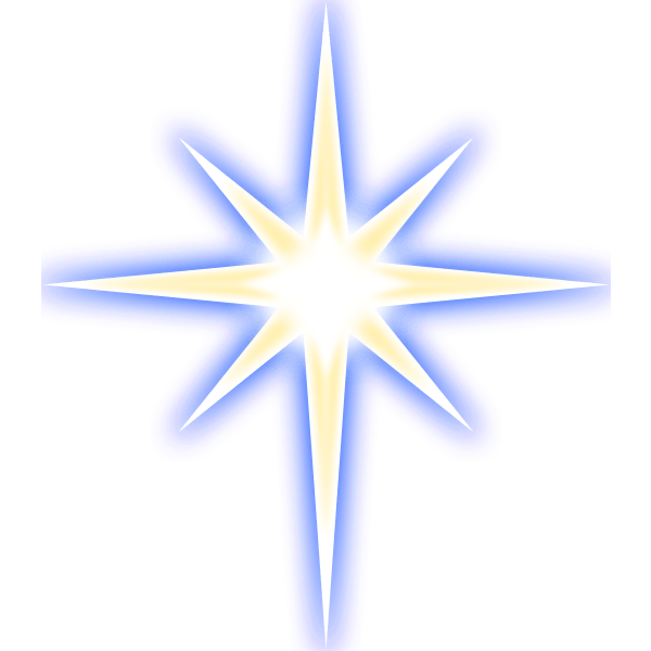 Christmas star svg & png for download | transparent background | personal & commercial use | edit christmas star colors online | also in eps or psd. Nativity Star Free Svg