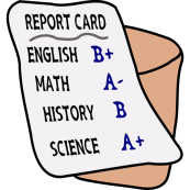 report card   Free SVG