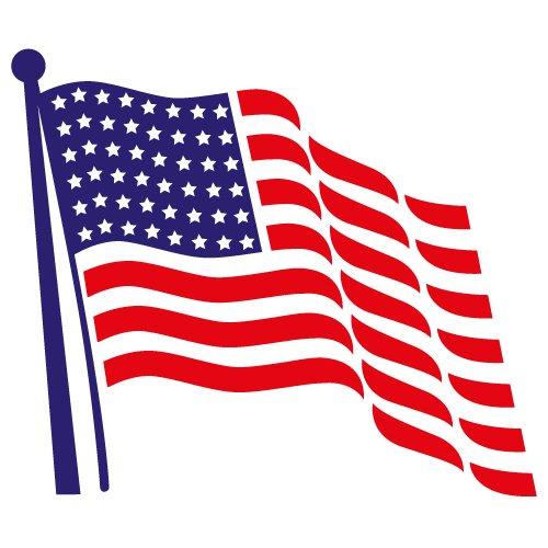 Download Free Flag SVG Cut File 4th July