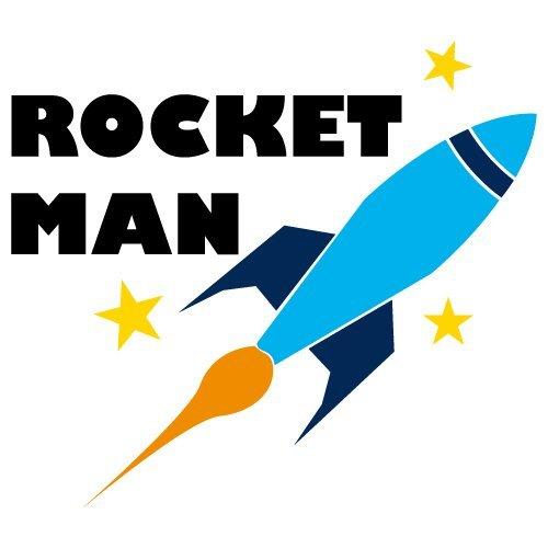 Rocket Man SVG