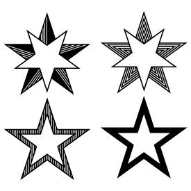 Free svg cut files stars. This FREE download includes SVG, EPS, PNG and DXF files for personal cutting projects. Free vector / free svg monogram / free svg images for cricut