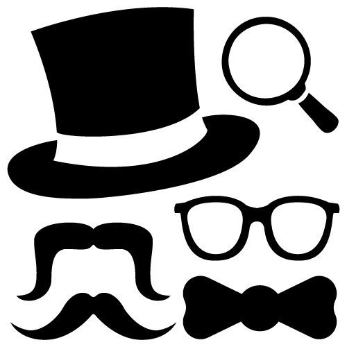 Photo Booth Props SVG