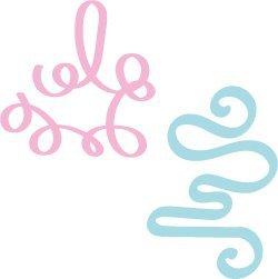 Hand Drawn Doodle Swirls SVG