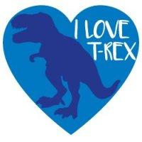Love T-Rex SVG