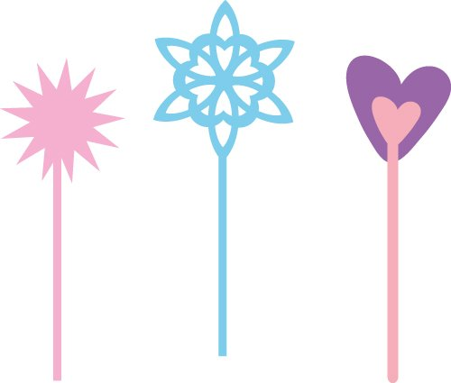 Free wands SVG cut file - FREE design downloads for your cutting