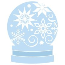 Free Christmas snowglobe cut files at www.freesvgdesigns.com. FREE downloads includes SVG, EPS, PNG and DXF files for personal cutting projects. Free vector / printable / free svg images for cricut
