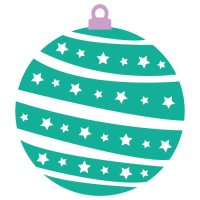 Free Christmas Bauble cut files at www.freesvgdesigns.com. FREE downloads includes SVG, EPS, PNG and DXF files for personal cutting projects. Free vector / printable / free svg images for cricut