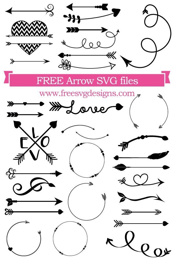 Download Free Arrows SVG cut file - FREE design downloads for your ...