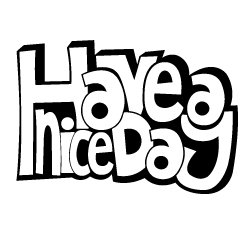 Have a nice day SVG