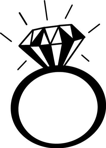 Download Free SVG Files | SVG, PNG, DXF, EPS | Diamond ring ...