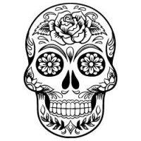 Free Sugar Skull SVG Files