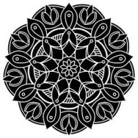 Free SVG Files - Mandala Pattern