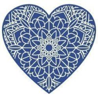 Free Mandala Heart SVG Files