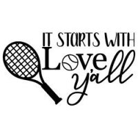 Tennis Quote SVG File