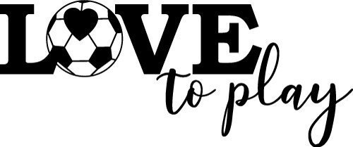 Download Love to Play Soccer | SVG, PNG, DXF, EPS | Free SVG Files