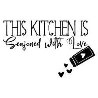 Kitchen Seasoned With Love SVG
