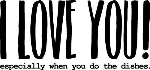 Quote I Love You SVG