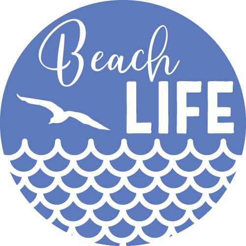 Free SVG Files | SVG, PNG, DXF, EPS | Beach Life Design