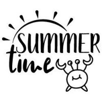 Quote Summer Time SVG