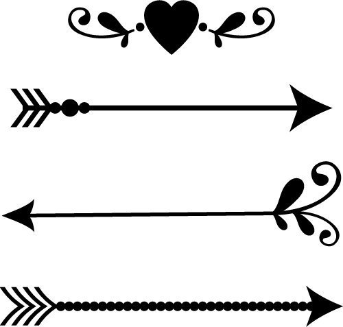 Download Free SVG Files | SVG, PNG, DXF, EPS | Arrow Designs