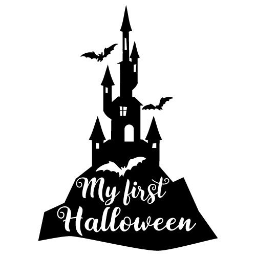 Quote My First Halloween SVG