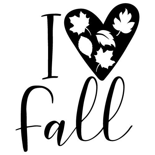 Download Free SVG Files | SVG, PNG, DXF, EPS | Quote I Love Fall