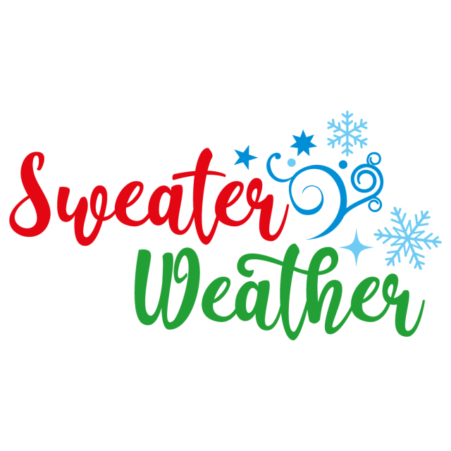 Quote Sweater Weather SVG