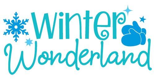 Quote Winter Wonderland SVG