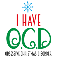Quote I Have Obsessive Christmas Disorder SVG
