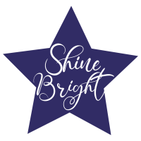 Quote Shine Bright SVG